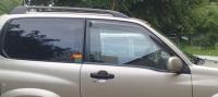 Дефлекторы окон (ветровики) для Suzuki Grand Vitara (1998-2005) 3 дверная