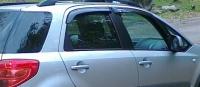Дефлекторы окон (ветровики) для Suzuki SX4 (2006-... г.в.) хэтчбек