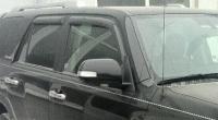 Дефлекторы окон (ветровики) для Toyota 4Runner V (2009-... г.в.)