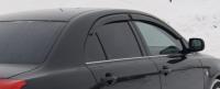 Дефлекторы окон (ветровики) для Toyota Avensis II (2003-2008) седан