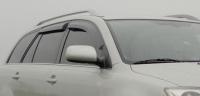 Дефлекторы окон (ветровики) для Toyota Avensis II (2003-2008) универсал