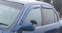 Дефлекторы окон (ветровики) для Toyota Corolla (1991-1998)