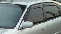Дефлекторы окон (ветровики) для Toyota Corolla (1997-2001)