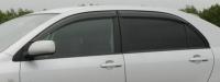 Дефлекторы окон (ветровики) для Toyota Corolla (2001-2006) седан