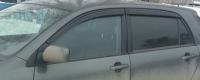Дефлекторы окон (ветровики) для Toyota Corolla (2001-2006) хэтчбек