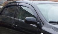 Дефлекторы окон (ветровики) для Toyota Corolla (2007-...г.в.) седан