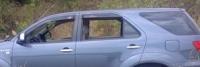 Дефлекторы окон (ветровики) для Toyota Fortuner (2006-... г.в.)