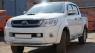 Дефлекторы окон (ветровики) для Toyota Hilux VII Dual Cab (2005-... г.в.)