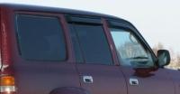 Дефлекторы окон (ветровики) для Toyota Land Cruiser 80 (1990-1998)