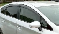 Дефлекторы окон (ветровики) для Toyota Prius III (2009-... г.в.)
