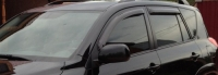 Дефлекторы окон (ветровики) для Toyota RAV4 III удлин. база (2006-2012)