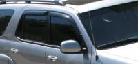 Дефлекторы окон (ветровики) для Toyota Sequoia I (2001-2007)