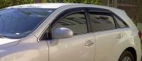 Дефлекторы окон (ветровики) для Toyota Venza (2008-... г.в.)