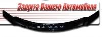 Дефлектор капота для Toyota Camry (2009 г.в.) шелкография
