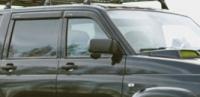 Дефлекторы окон (ветровики) для UAZ Patriot 2005-... г.в.