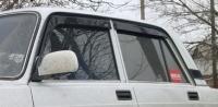 Дефлекторы окон (ветровики) на Lada ВАЗ 2105