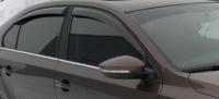 Дефлекторы окон (ветровики) для Volkswagen Jetta VI (2010-... г.в.)