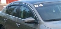 Дефлекторы окон (ветровики) для Volkswagen Passat B6/B7 (2005-... г.в.) седан