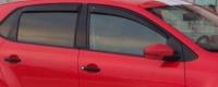 Дефлекторы окон (ветровики) для Volkswagen Polo V (2009-...г.в.) хэтчбек