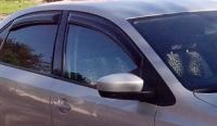 Дефлекторы окон (ветровики) для Volkswagen Polo V (2010-...г.в.) седан