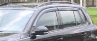 Дефлекторы окон (ветровики) для Volkswagen Tiguan (2008-... г.в.)
