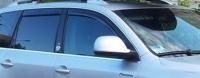 Дефлекторы окон (ветровики) для Volkswagen Touareg I (2002-2010)