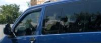 Дефлекторы окон (ветровики) для Volkswagen Transporter T5 (2003-... г.в.)