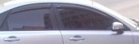 Дефлекторы окон (ветровики) для Volvo S40 II (2004-... г.в.)