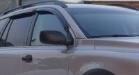 Дефлекторы окон (ветровики) для Volvo XC90 (2003-... г.в.)