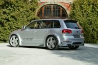 Накладки на пороги (внешние) Je Design для Volkswagen Touareg 2002-2005 г.в.