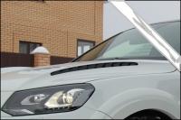 Капот с жабрами для Volkswagen Touareg NF 2010-2011 г.в.