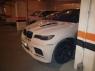 Капот с жабрами Tycoon EVO M для BMW X6 E71 (стеклопластик)