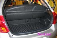Коврик в багажник для Toyota Yaris II 2005-2011 г.в. хэтчбек
