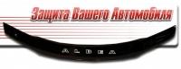 Дефлектор капота (мухобойка) на Fiat Albea 2007-...г.в.