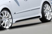 Накладки на пороги Rieger (внешние) для Opel Astra H - GTC 2004-2010 г.в.