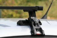 Багажник Amos на Skoda Fabia II 2007-...г.в. хэтчбек (Dromader D-2)