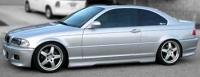Накладки на пороги (внешние) Hamann для BMW-5 серии E-39 1995-2003 г.в. седан