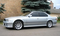 Накладки на пороги (внешние) для BMW-7 серии E38 1994-2001 г.в.