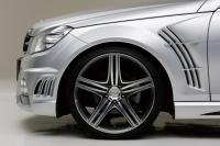 Крылья передние в стиле Wald для Mercedes Benz C-class W204 кузов 2007-...г.в.