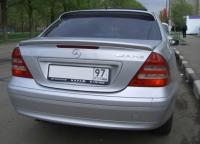 Спойлер на крышку багажника для Mercedes Benz C-class 203 кузов 2000-2004 г.в.