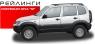 Рейлинги АПС на Chevrolet Niva М
