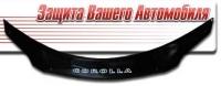 Дефлектор капота (мухобойка) на Toyota Corolla Axio 2006-...г.в.