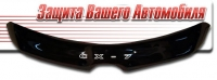Дефлектор капота (мухобойка) на Mazda CX-7 2006-2012 г.в.