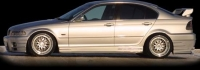 Накладки на пороги (внешние) SEIDL для BMW-3 серии E46 1998-2005 г.в.
