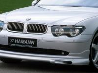 Накладка (юбка) на бампер передний Hamann для BMW-7 серии E65 (рестайлинг) 2003-2010 г.в.