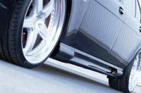 Накладки на пороги (внешние) Hamann для BMW-7 серии E65 2003-2010 г.в.