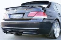 Накладка (юбка) на бампер задний Hamann для BMW-7 серии E65 (рестайлинг) 2003-2010 г.в.