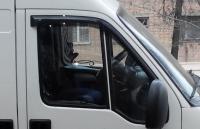 Дефлекторы окон (ветровики) для Ford Transit (2000- г.в.)