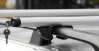 Багажник Amos для автомобилей с рейлингами (Futura) с замком