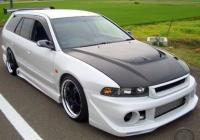 Бампер передний в стиле Topstar для Mitsubishi Galant VIII 1996-2004 г.в.